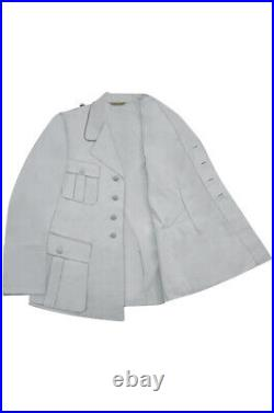 WW2 German Luftwaffe M35 Officer white summer Jacket tunic