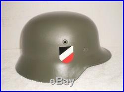 WW2 German M35 steel helmet, ET64, 3545, original