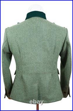 WW2 German M36 Heer EM fieldgrey wool tunic Feldbluse (5 buttons)