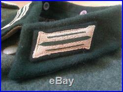 WW2 German M36 Tunic Jacket S (36-38) Short + 32 Waist Trousers Pants Feldhosen
