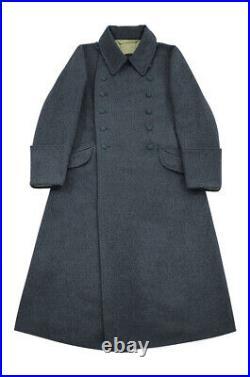 WW2 German M40 Luftwaffe EM Wool Greatcoat 3XL
