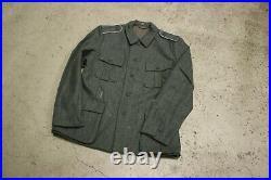 WW2 German M40 Tunic Size 42 Wehrmacht Waffen Eastern front Feldbluse Jacke