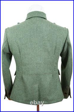 WW2 German M40 elite EM fieldgrey wool tunic Feldbluse M