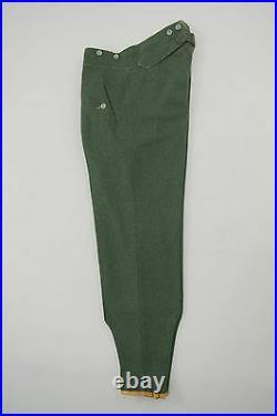 WW2 German M40 gebirgsjägers field wool trousers 3XL/42