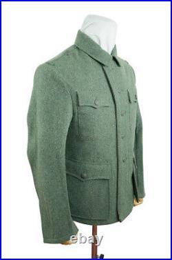 WW2 German M42 elite EM fieldgrey wool tunic Feldbluse M