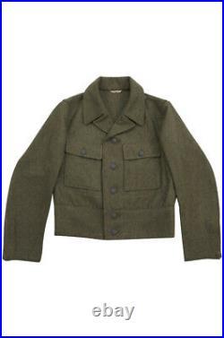 WW2 German M44 Heer / Elite EM Brown wool tunic Feldbluse M