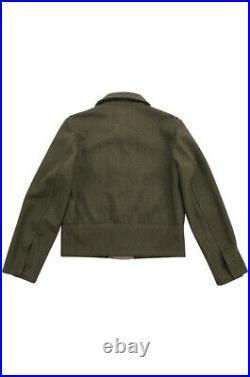 WW2 German M44 Heer / Elite EM Brown wool tunic Feldbluse XL