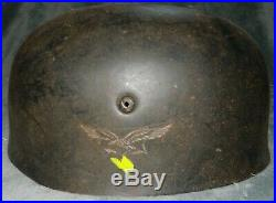 WW2 German Paratrooper Fallschirmjager HELMET Shell Great Replica WWII