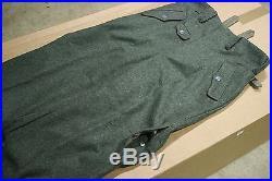WW2 German Paratrooper Jump Trousers Wool Reproduction Fallschirmjager SIZE 40