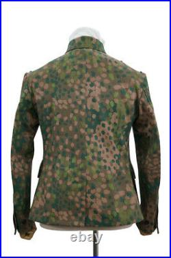 WW2 German Police Division Dot camo field tunic 3XL