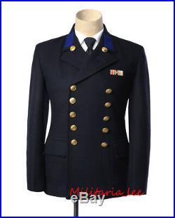 WW2 German Repro Kriegsmarine Sailor Navy Blue Wool Tunic All Sizes