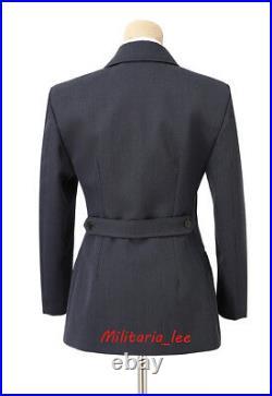 WW2 German Repro LW Helferinnen Blue Gray Gabardine Tunic All Sizes