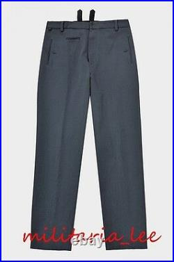 WW2 German Repro Luftwaffe Officer M35 Blue Gray Gabardine Trousers All Sizes