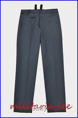 WW2 German Repro Luftwaffe Officer M35 Blue Gray Gabardine Trousers All Sizes