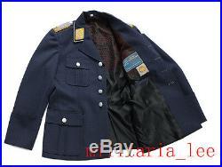 WW2 German Repro Luftwaffe Officer M35 Blue Gray Gabardine Tunic All Sizes