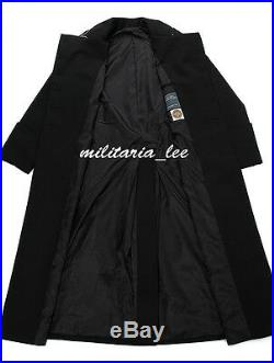WW2 German Repro M32 Black Gabardine Overcoat All Sizes
