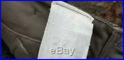 WW2 German Reproduction Army M36 Service Pants Trousers Grey Lost Battalions 38W