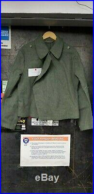 WW2 German Reproduction Assualt Gunners Panzer Field Blouse Lost Battalions WWII