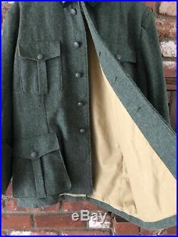 (WW2 German Reproduction)M36 38 Field Blouse & German Army Mountain Trousers W32