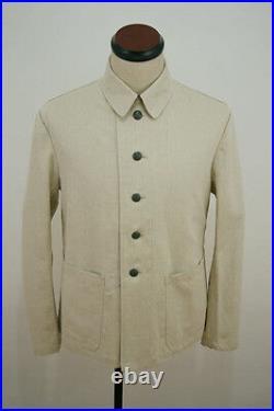 WW2 German Summer HBT off-white drill service tunic