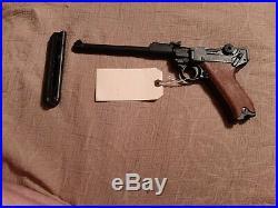 WW2 German Tankers Luger Pexix 938 Metal Hollywood Movie Prop Gun 9mm replica