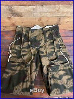 WW2 German Wehrmacht / Luftwaffe Splinter Camouflage Winter Pants