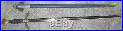 WW2 German air force Luftwaffe officer's sword & scabbard, All Original