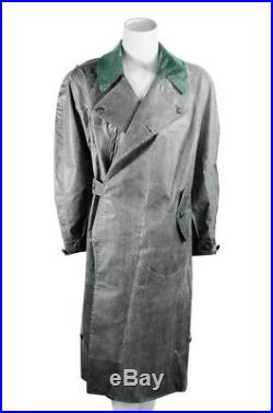 WW2 German later Motorcyclist rubberlized raincoat M