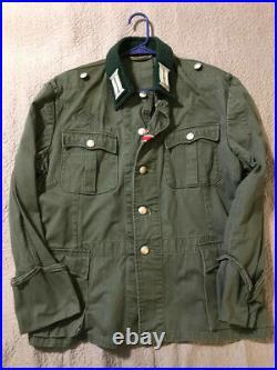 WW2 Reenactor German officer summer tunic size XL