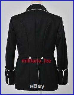 WW2 Repro German General Black Gabardine Mess Dress Tunic All Sizes