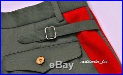 WW2 Repro German General Field Gray Gabardine Breeches All Sizes