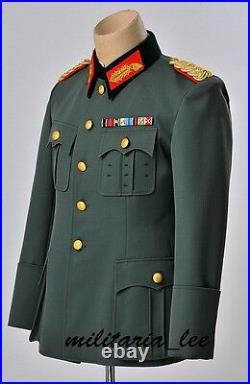 WW2 Repro German General M36 Field Gray Gabardine Tunic All Sizes