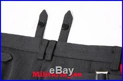 WW2 Repro German General Stone Gray Gabardine Trousers All Sizes