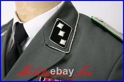 WW2 Repro German M34/37 Gray Gabardine Tunic (SD)All Sizes