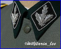 WW2 Repro German M41 Field Gray Gabardine Tunic All Sizes