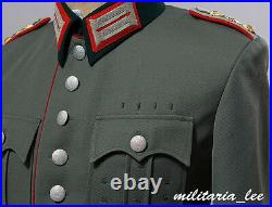 WW2 Repro German Officer M27 Field Gray Gabardine Tunic All Sizes