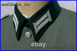 WW2 Repro German Officer M36 Field Gray Gabardine Tunic All Sizes