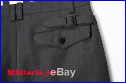 WW2 Repro German Officer Stone Gray Gabardine Trousers All Sizes