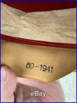 WW2 WWII German Afrika Korps Pith Helmet ORIGINAL 1941 Rare size 60 Wehrmacht