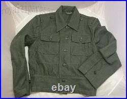 WW2 WWII German M44 Infantry Soldier Jacket Shirt Tunic Fatigue Pants Uniform