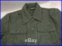 WW2 WWII German M44 Infantry Soldier Jacket Shirt Tunic Fatigue Pants Uniform