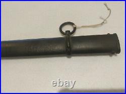 WW2 World War Two German Dove Tail/Head Officer's sword & scabbard, Original