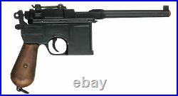 WWII Broomhandle Mauser Gun Pistol Natural Wood Grips Museum Replica IN STOCK