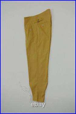 WWII DAK/Tropical Afrikakorps elite sand trousers M43 Italian SAHARIANA S/32