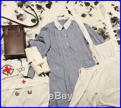 WWII DRK German Nurse Helferin Uniform FULL KIT