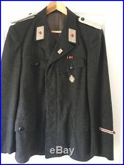 WWII DRK MALE Deutsches Rotes Kreuz WOOL TUNIC L