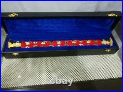 WWII GERMAN Eirwin Romel Field Marshal Baton come with box with diamonds or with
