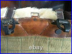 WWII German Army Backpack Rucksack Fur Tornister Pony Hair Wehrmacht (Repro)