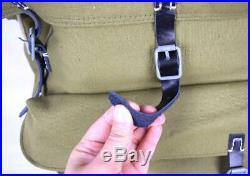 WWII German Army Heer Elite Mountain Troops Canvas Rucksack Backpack Hi-Q 1943