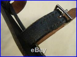WWII German Black Dagger Hanger Original Material
